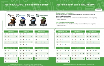 Daventry Bins Schedule 1